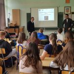 Presentation held at the elementary school Ivan Goran Kovačić in Vrbovsko