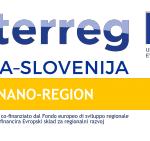 """NANORI centar ušao u pridruženo partnerstvo u sklopu projekta """"Nano-Region"""" INTERREG Italia-Slovenija"""